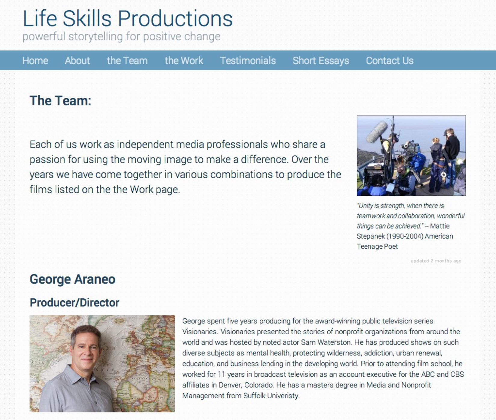 Life Skills Productions