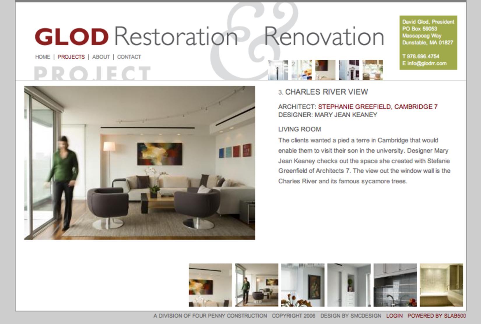 David Glod Reconstruction and Renovation