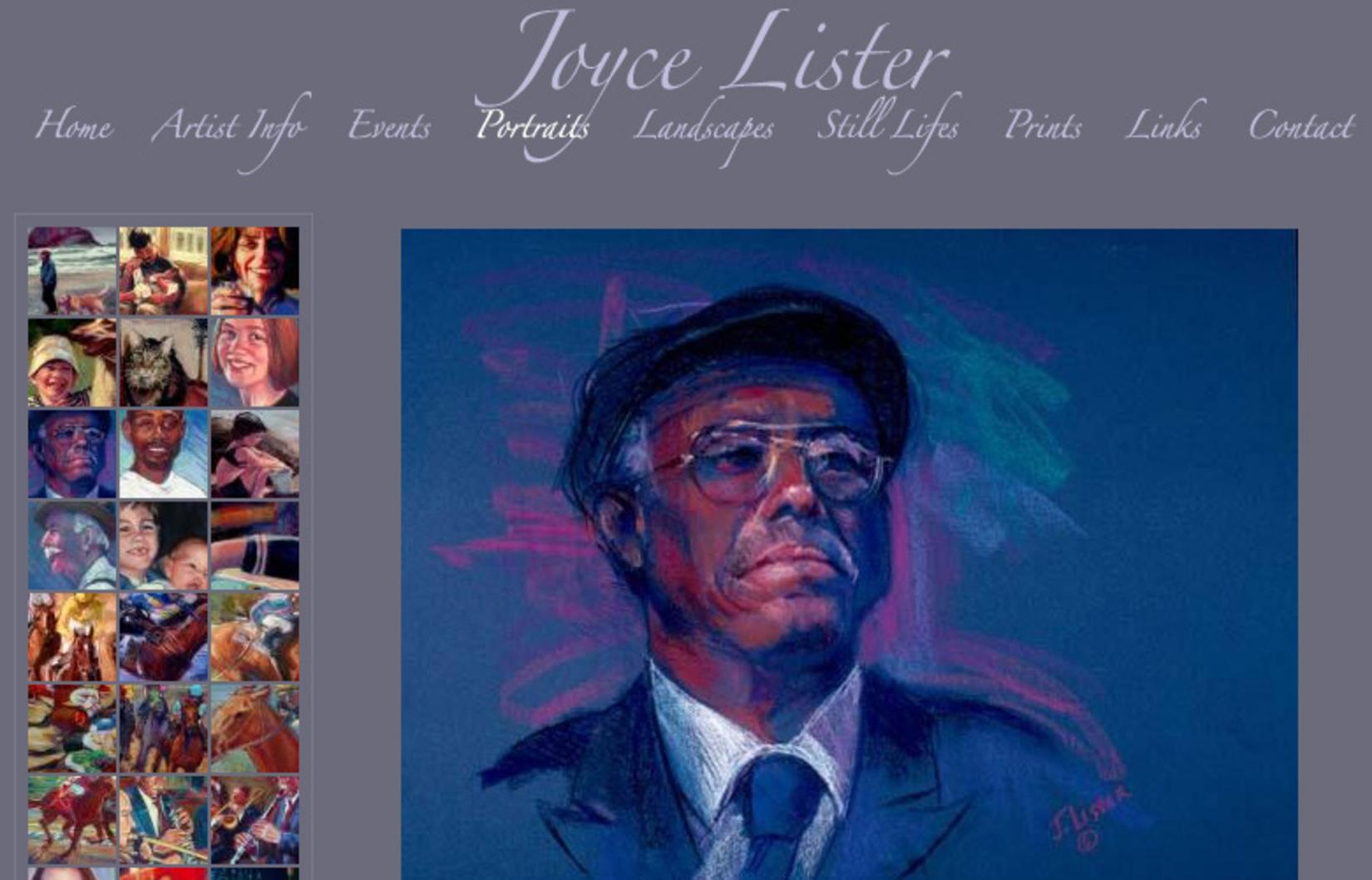 Joyce Lister, Painter