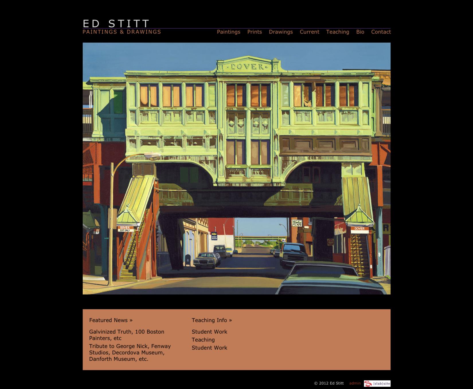 Ed Stitt: Paintings and Drawings
