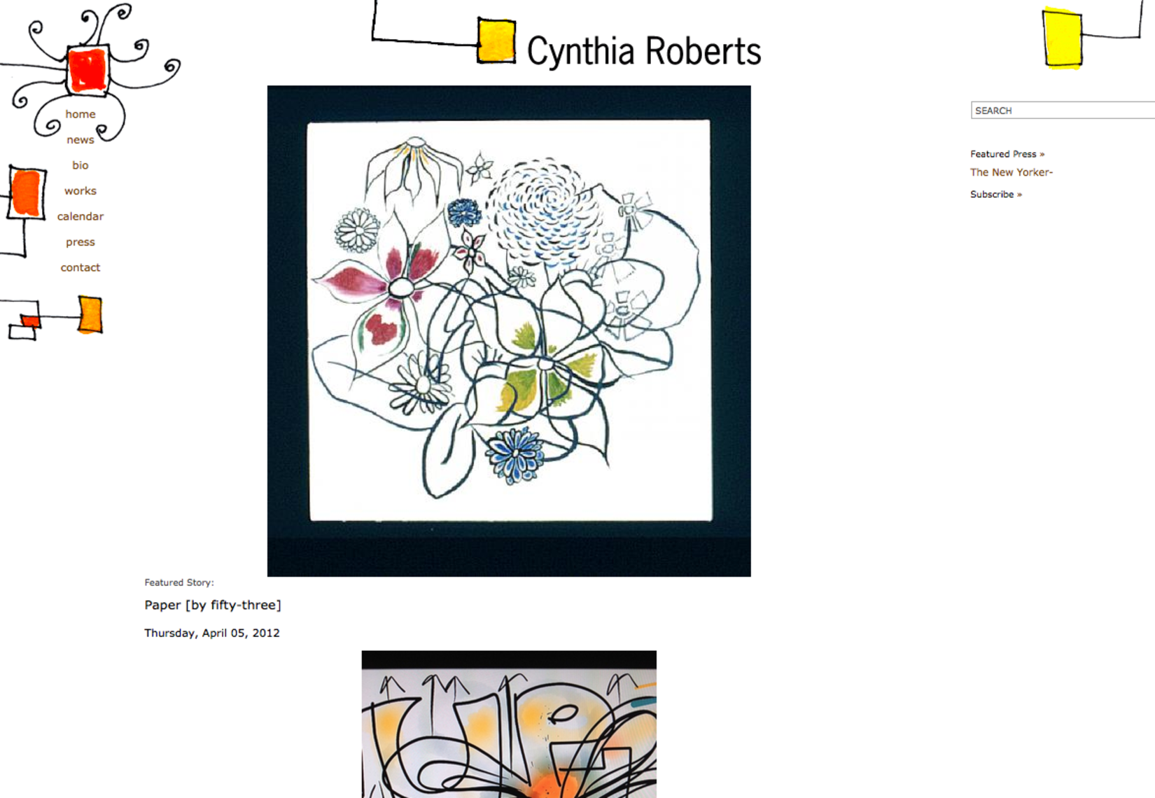 Cynthia Roberts, Visual Artist