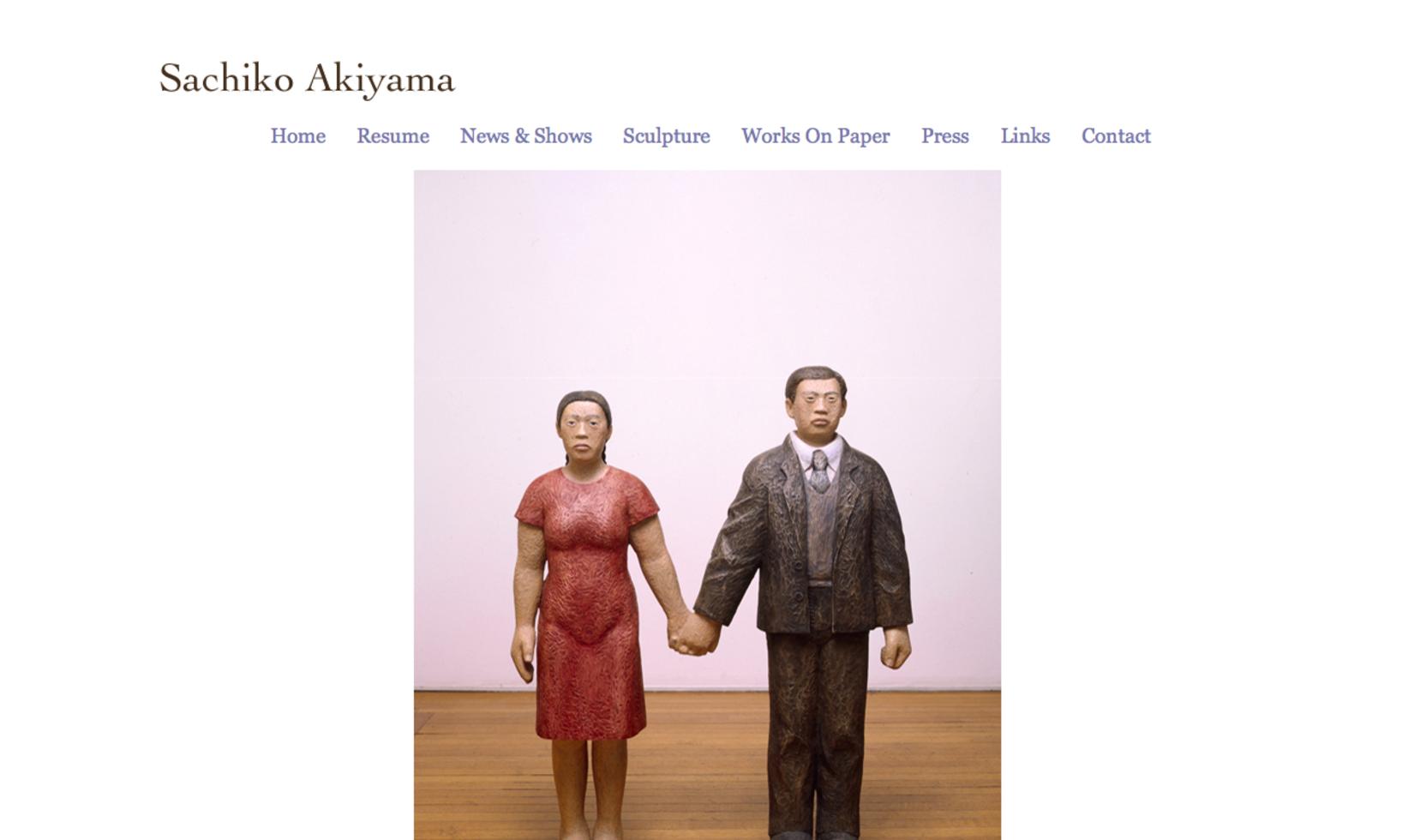 Sachiko Akiyama, sculptor