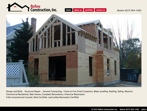 Refine Construction Inc