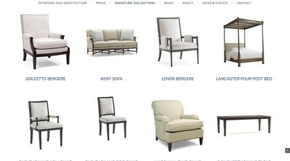 Signature Collections section