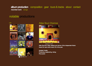 Notable Productions